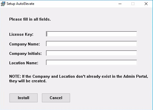 System Agent Installation – AutoElevate Support Center